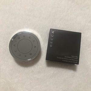 Becca Hydra Mist Set & Refresh Face Powder